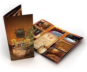 Заказать печать и изготовление рекламных буклетов в Минске